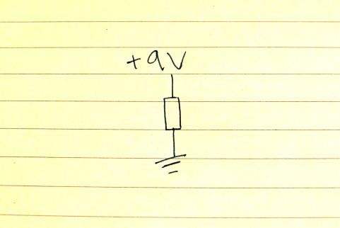 resistor-to-ground